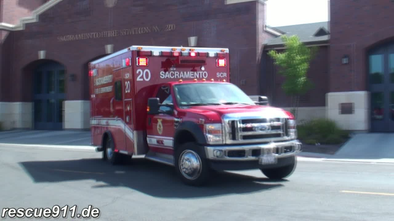 Medic 20 Sacramento Fire department (stream)
