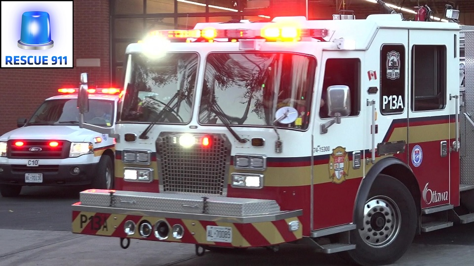 Pump P13A + Chief C10 Ottawa Fire-Incendie (stream)