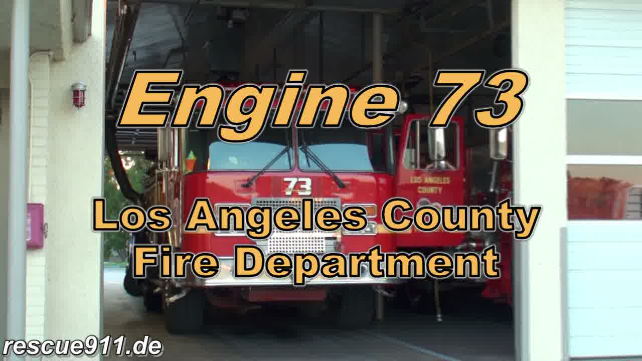 INSIDE VIEW - Engine 73 LACoFD (stream)