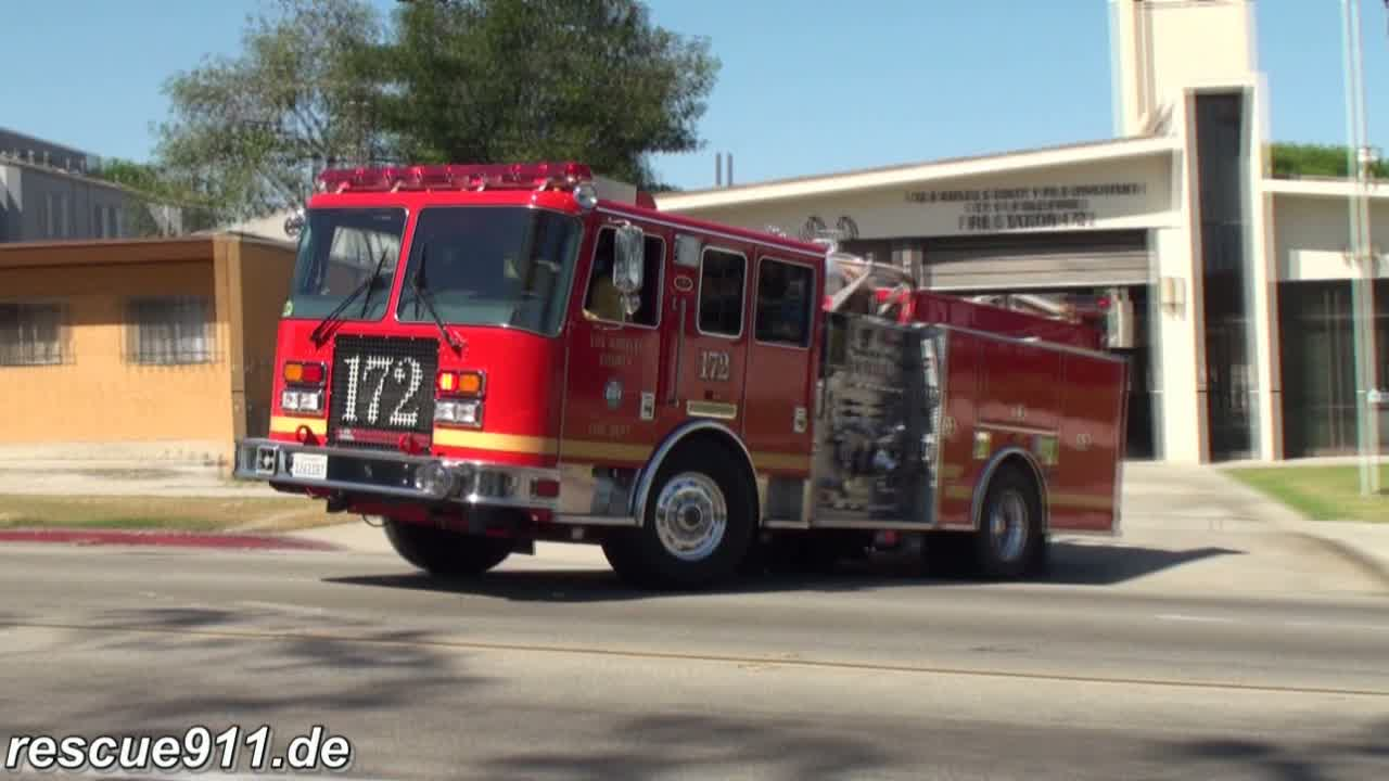 Engine 172 LACoFD (stream)