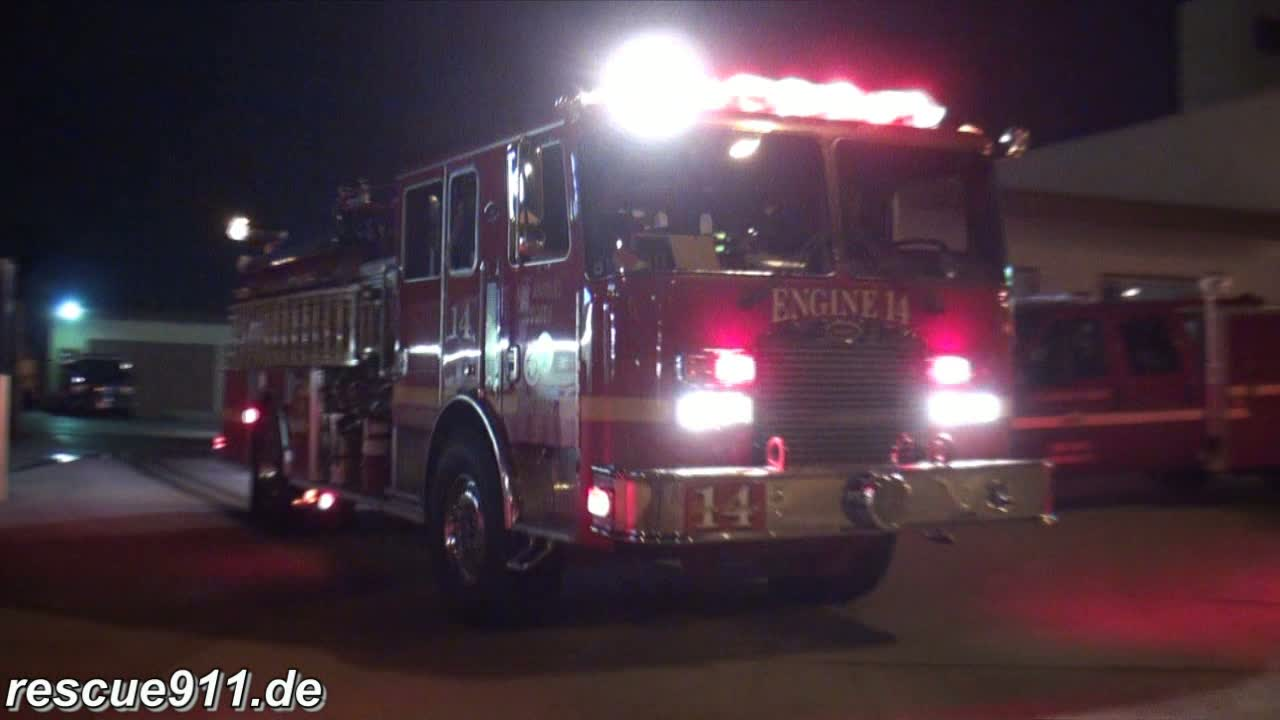 Engine 14 + Squad 173 LACoFD (stream)