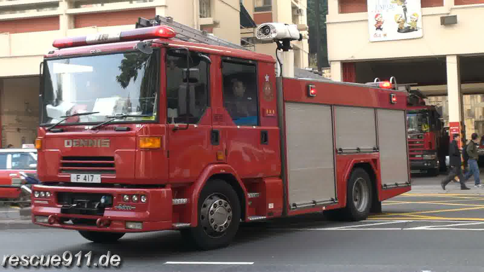 Major Pump + Paramedic Bike HKFSD Yau Ma Tei Station (stream)
