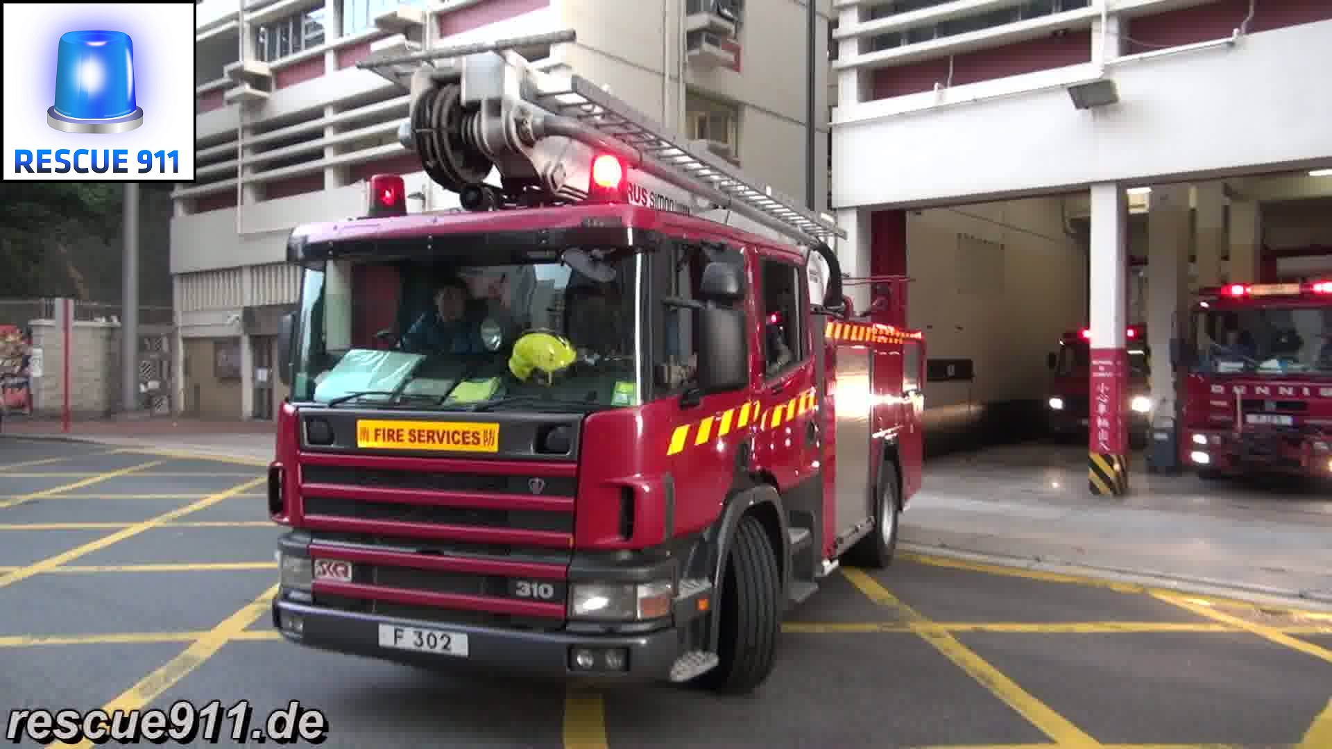 HP + MP + LRU HKFSD Yau Ma Tei Fire Station (stream)