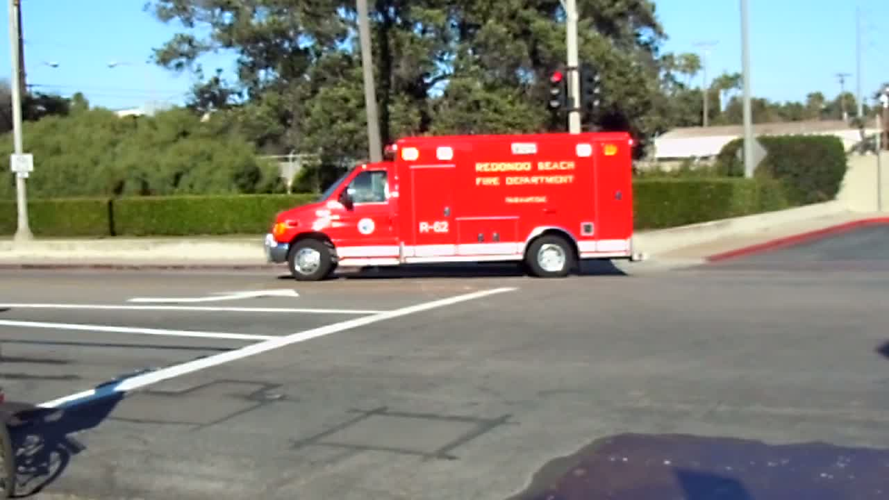 Rescue 62 Redondo Beach Fire Department