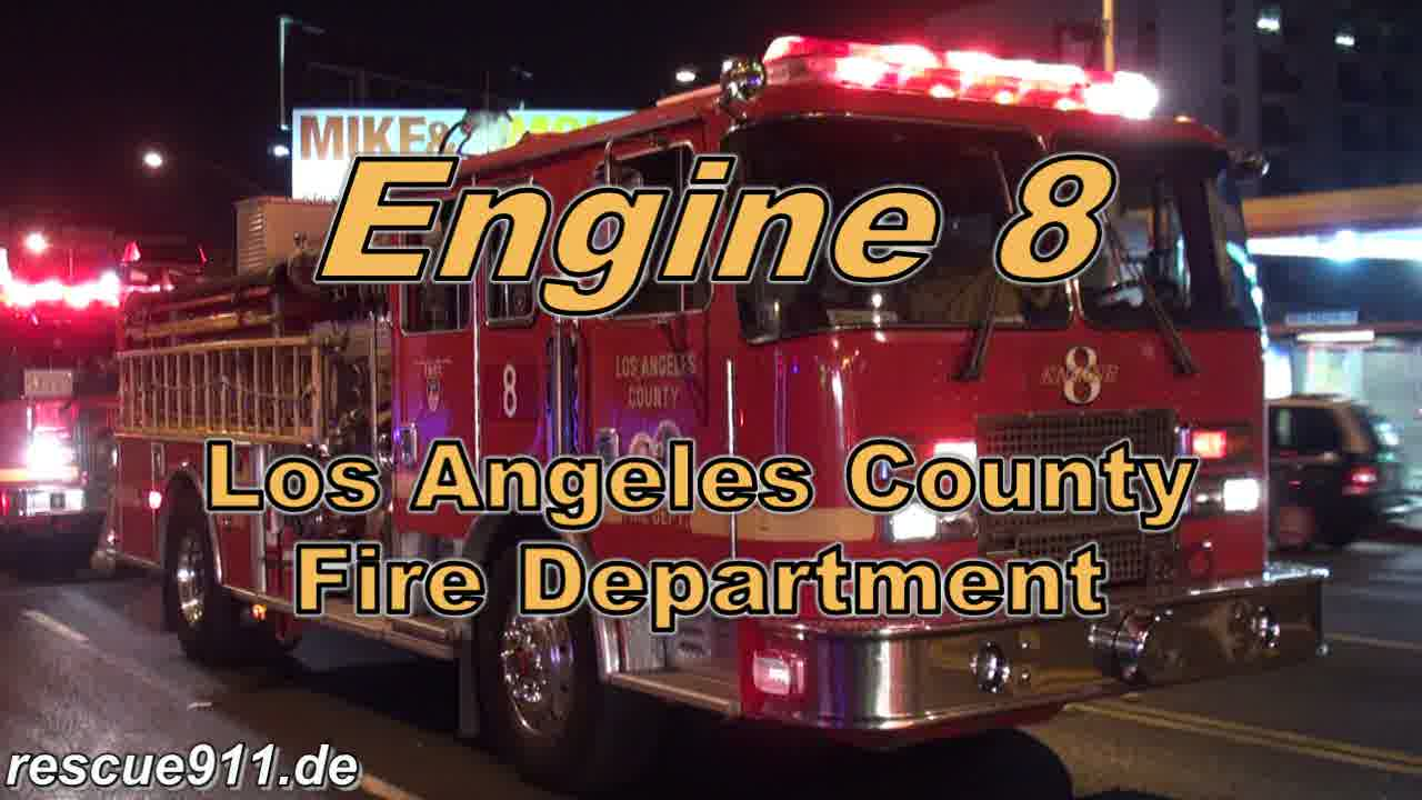 INSIDE VIEW - Engine 8 LACoFD (stream)
