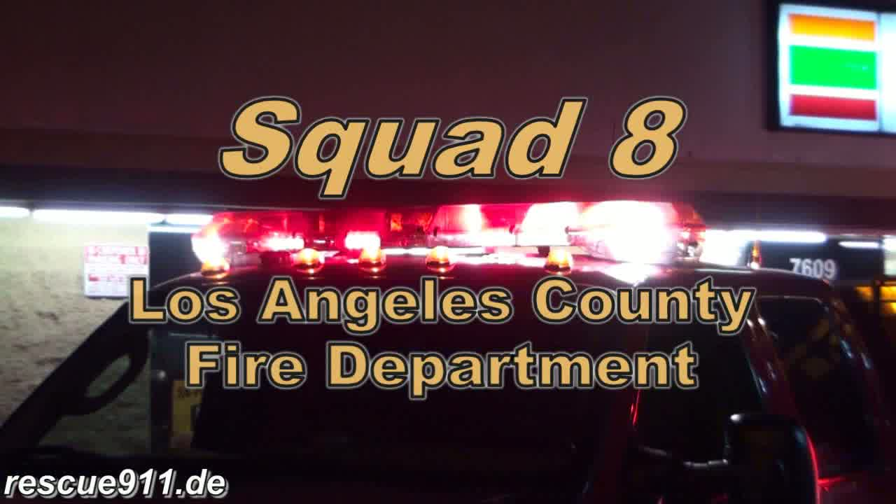INSIDE VIEW - Squad 8 LACoFD (stream)
