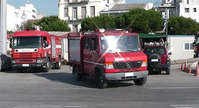 2x Engine Patras Fire Department Station 1