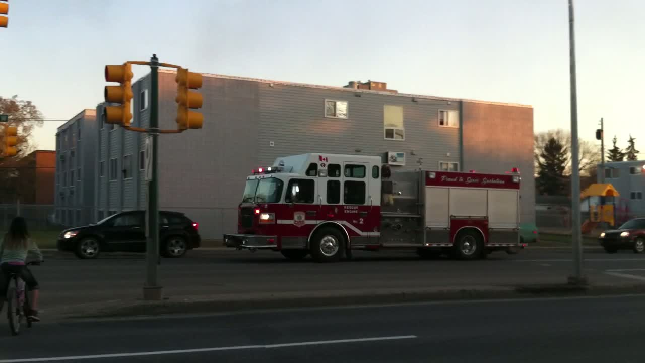 Engine 2 Saskatoon Fire department