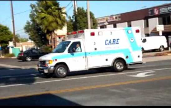 Care Ambulance A5 Fullerton Fire Department