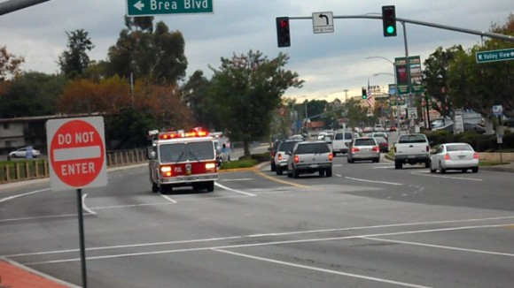 Engine 1 + Ambulance 1 Fullerton