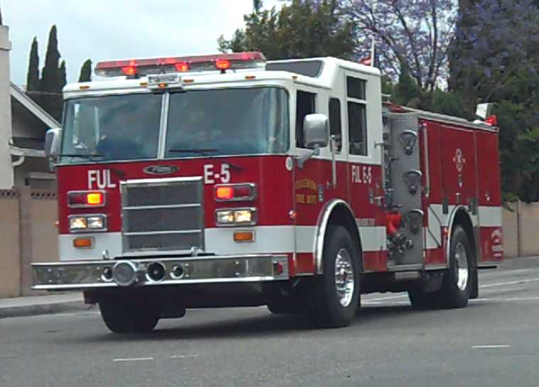 Engine 5 Fullerton Fire Department