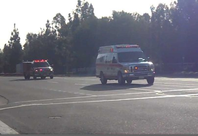 LA County Medic + AMR Ambulance