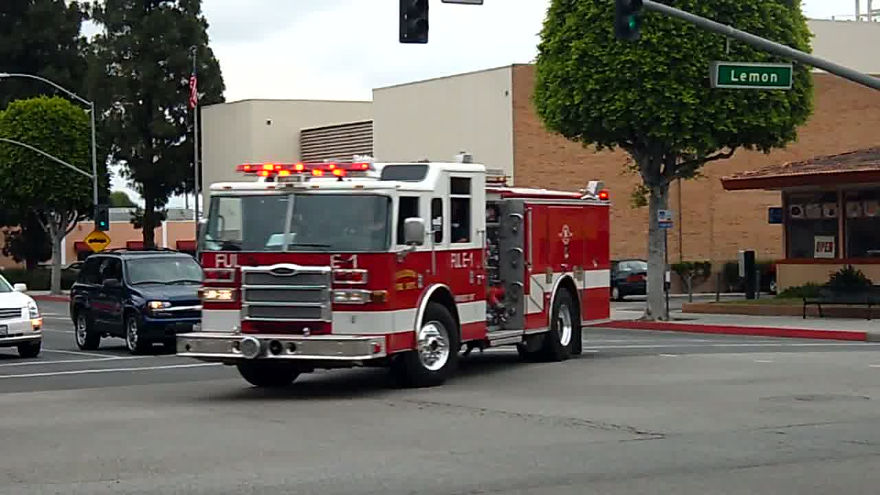Engine 1 Fullerton Fire Department