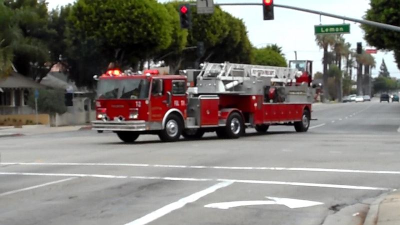 Truck 1 Fullerton Fire Department