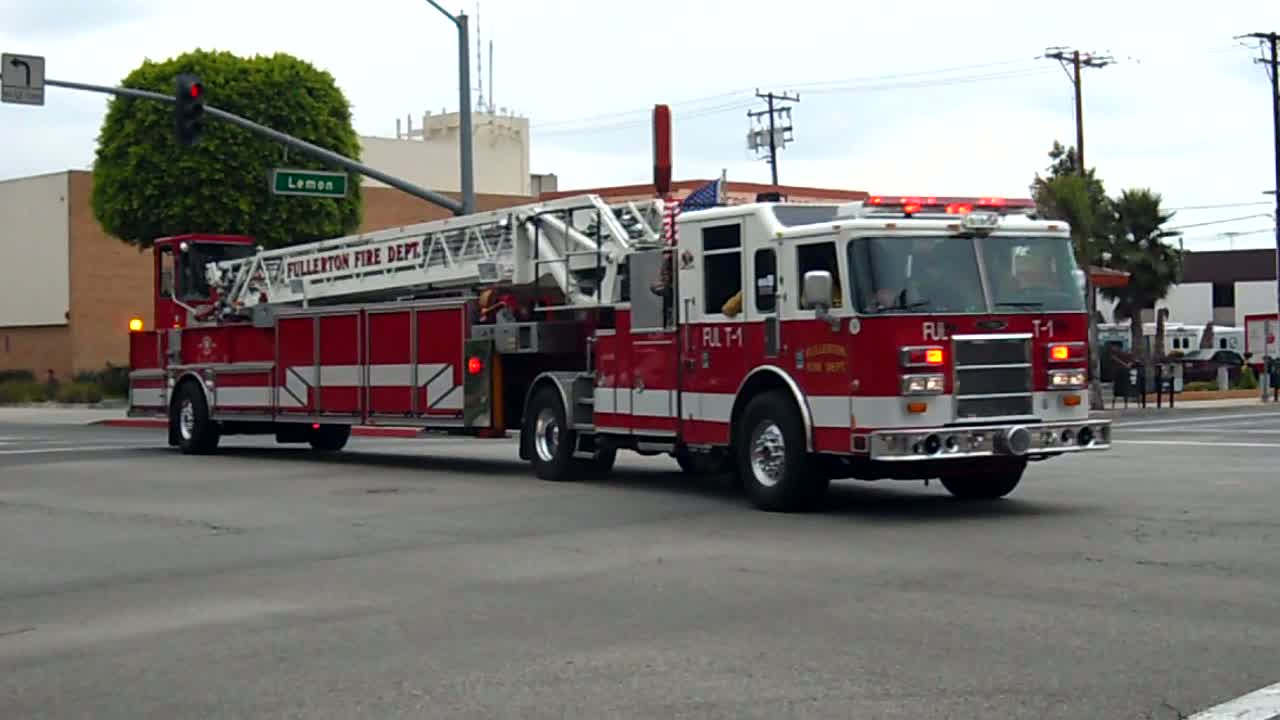Ladder 1 Fullerton Fire Department