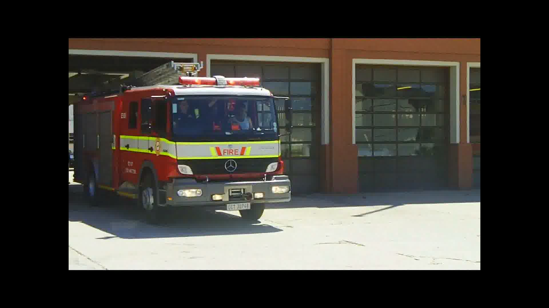 Fire department Cape Town (collection)