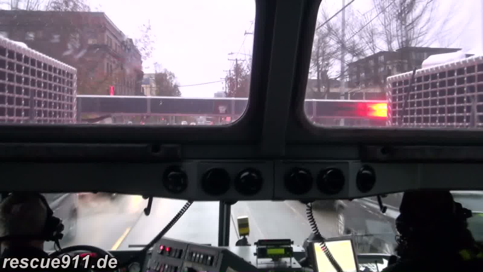 INSIDE VIEW - Ladder 10 Seattle Fire Department (stream)