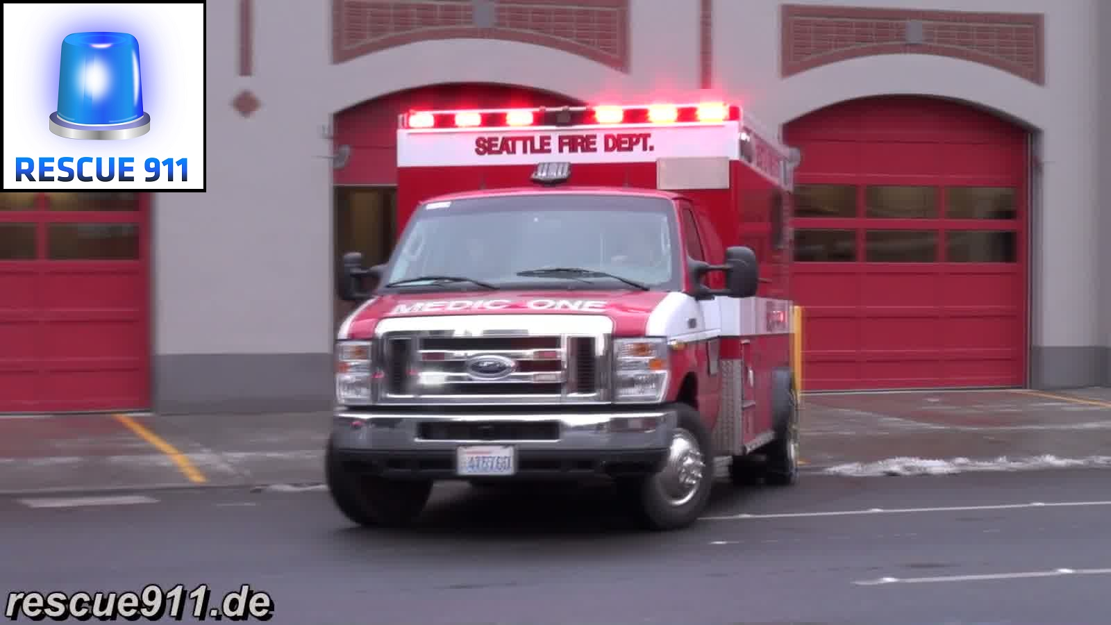 Aid 84 Seattle Fire Department (collection) (stream)