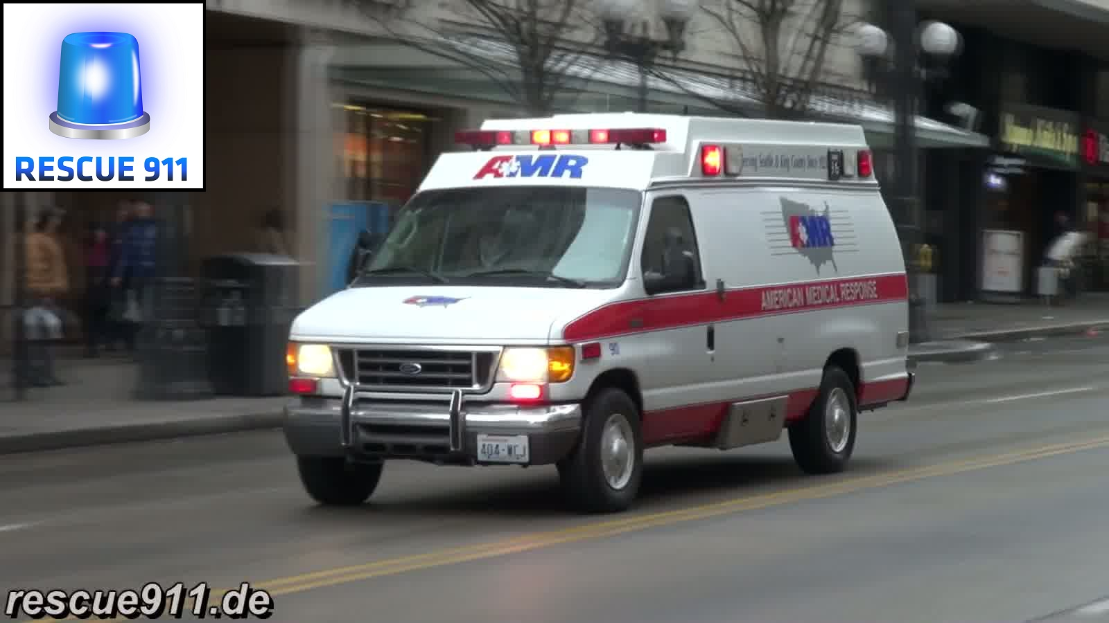 Ambulance AMR Seattle (collection) (stream)