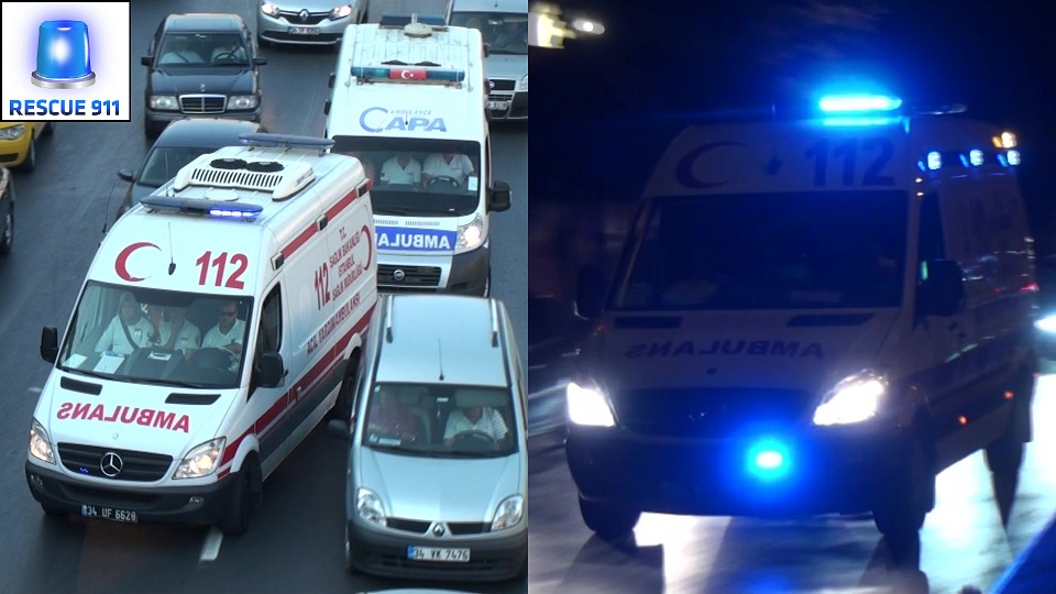 Ambulans EMS Istanbul (collection) (stream)
