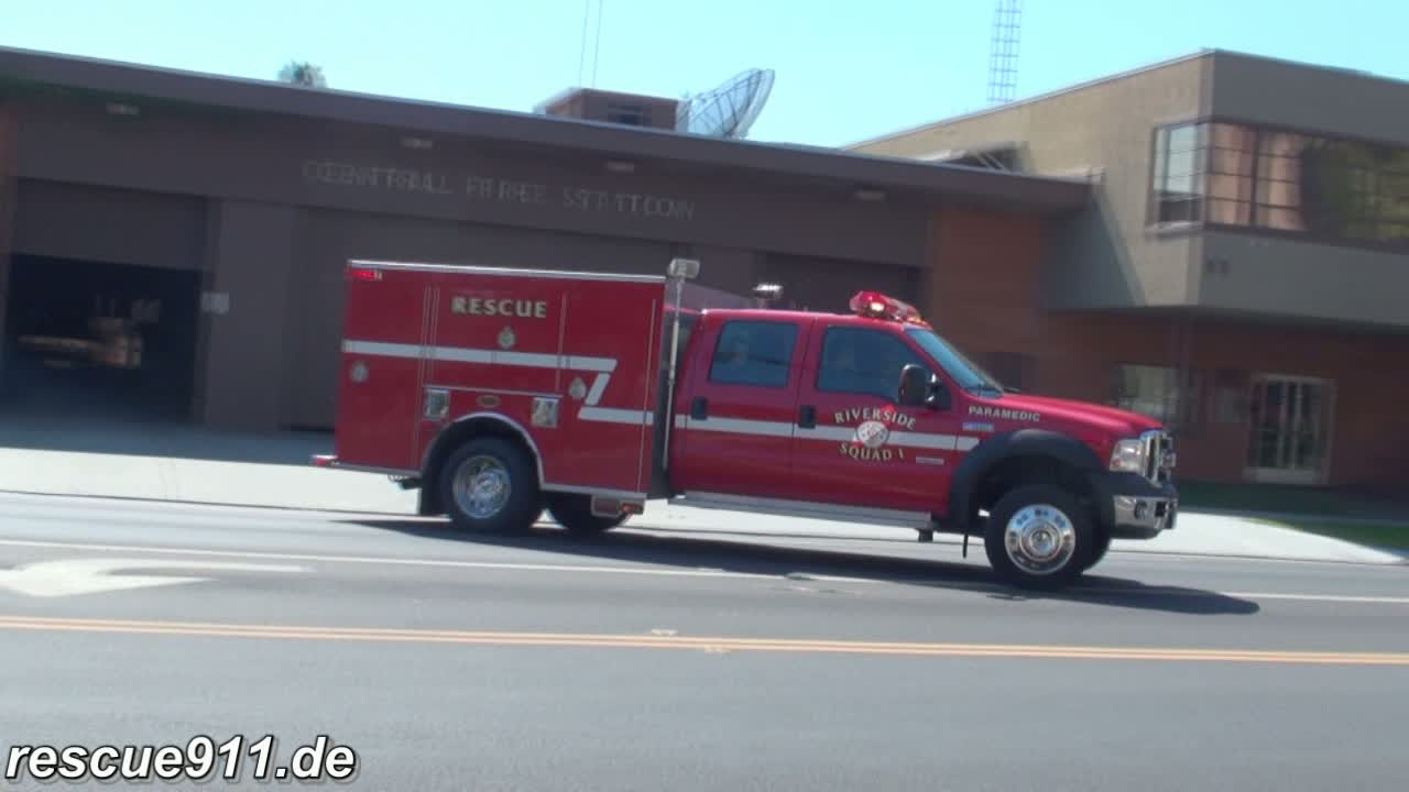 Squad 1 Riverside Fire Department (stream)