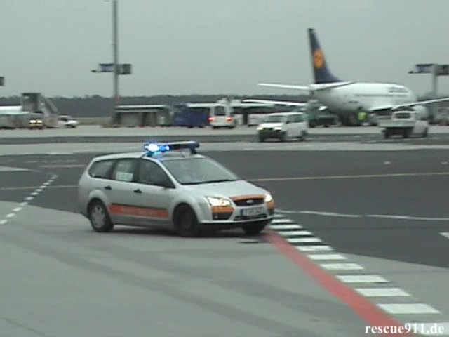 PKW Airport Security Fraport