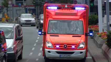 3x RTW Emergency Medical Services Fraport
