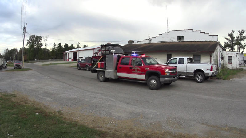 Squad 8 Fairfield Rural Fire Department