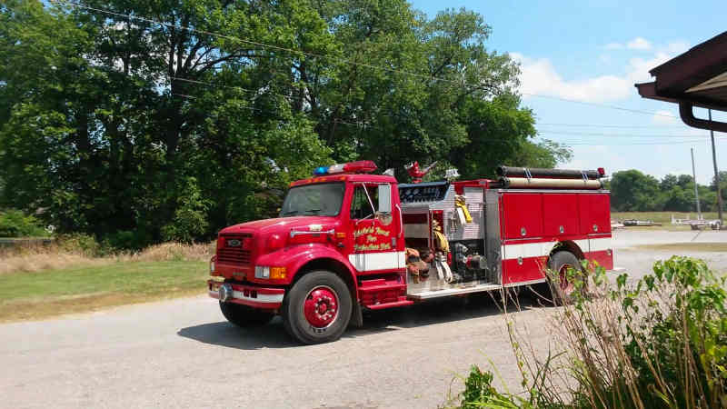 Engine 5 Fairfield Rural Fire Department