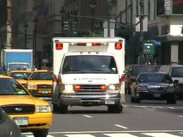 Ambulance Cabrini Medical Center (stream)