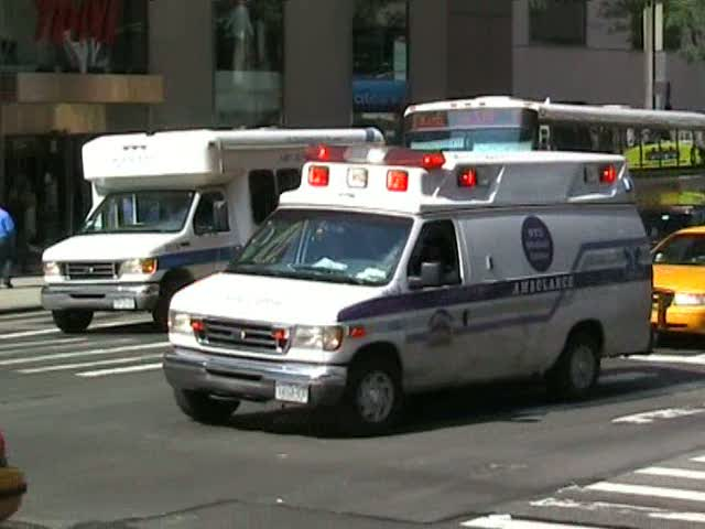 Ambulance NYU Medical Center (stream)