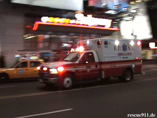 HazTac Ambulance FDNY (stream)
