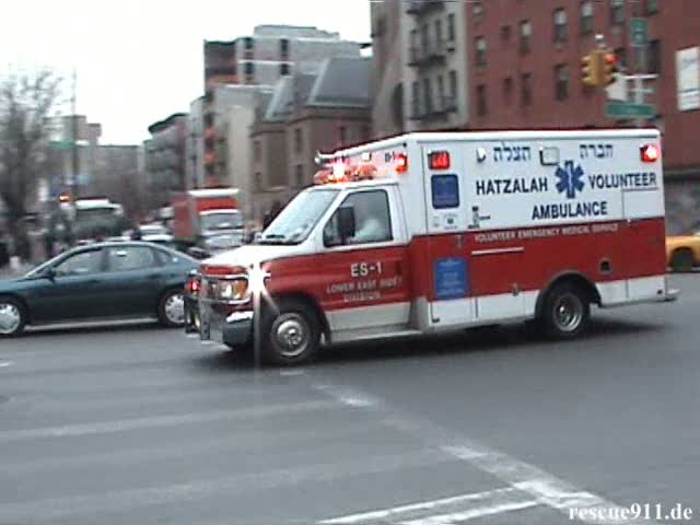Hatzalah Volunteer Ambulance (stream)