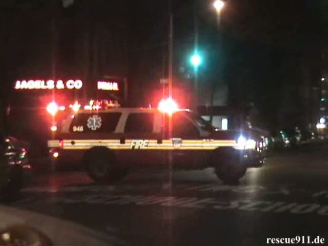 EMS Supervisor 946 FDNY (collection) (stream)