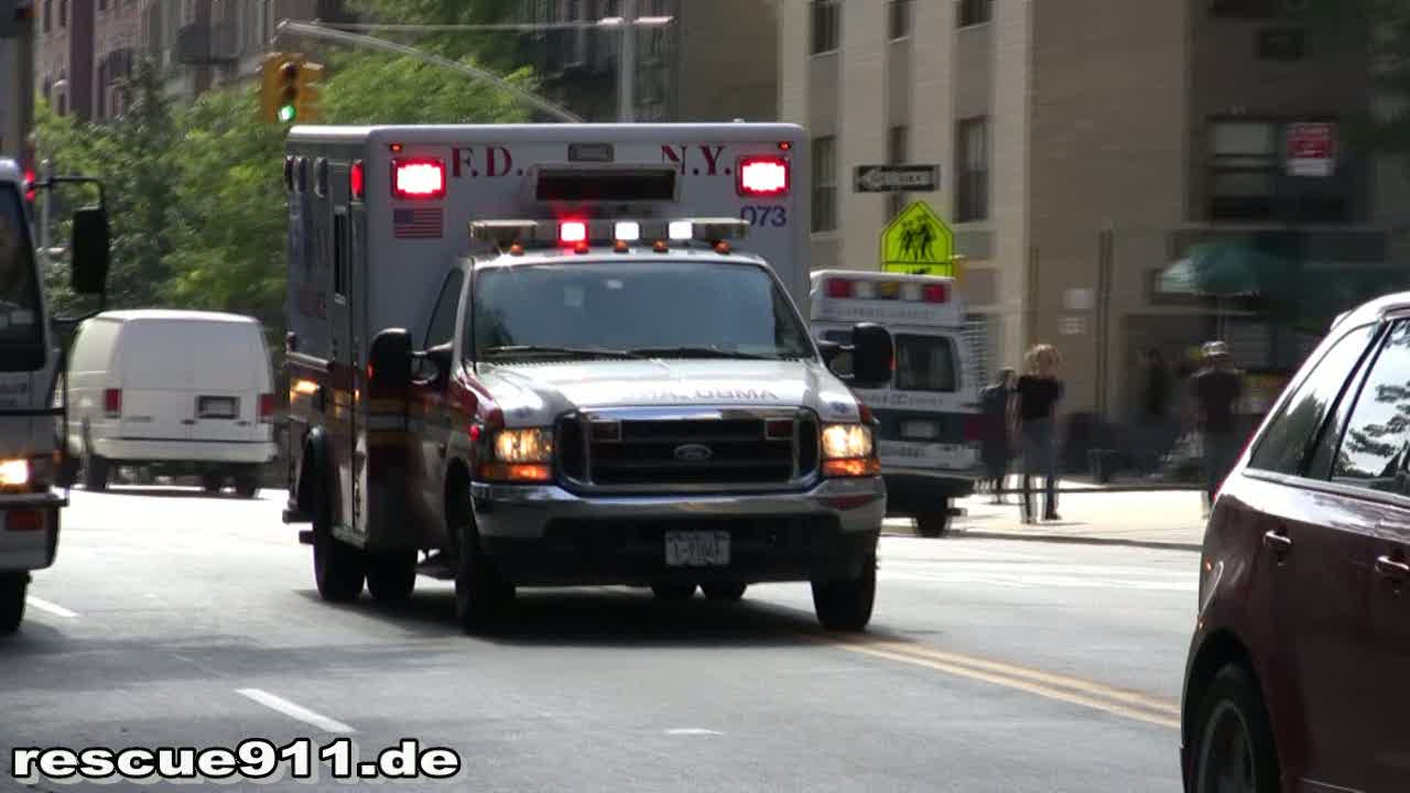 Ambulance 073 FDNY (stream)
