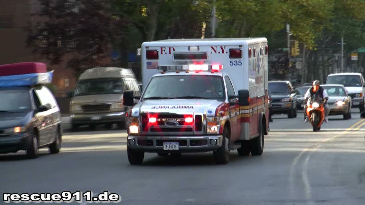 Ambulance 535 FDNY (stream)
