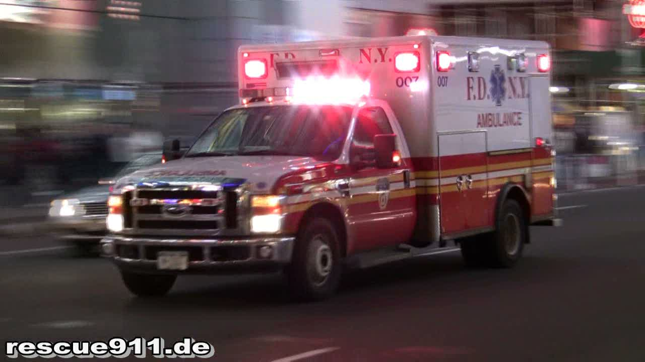 Ambulance 007 FDNY (stream)