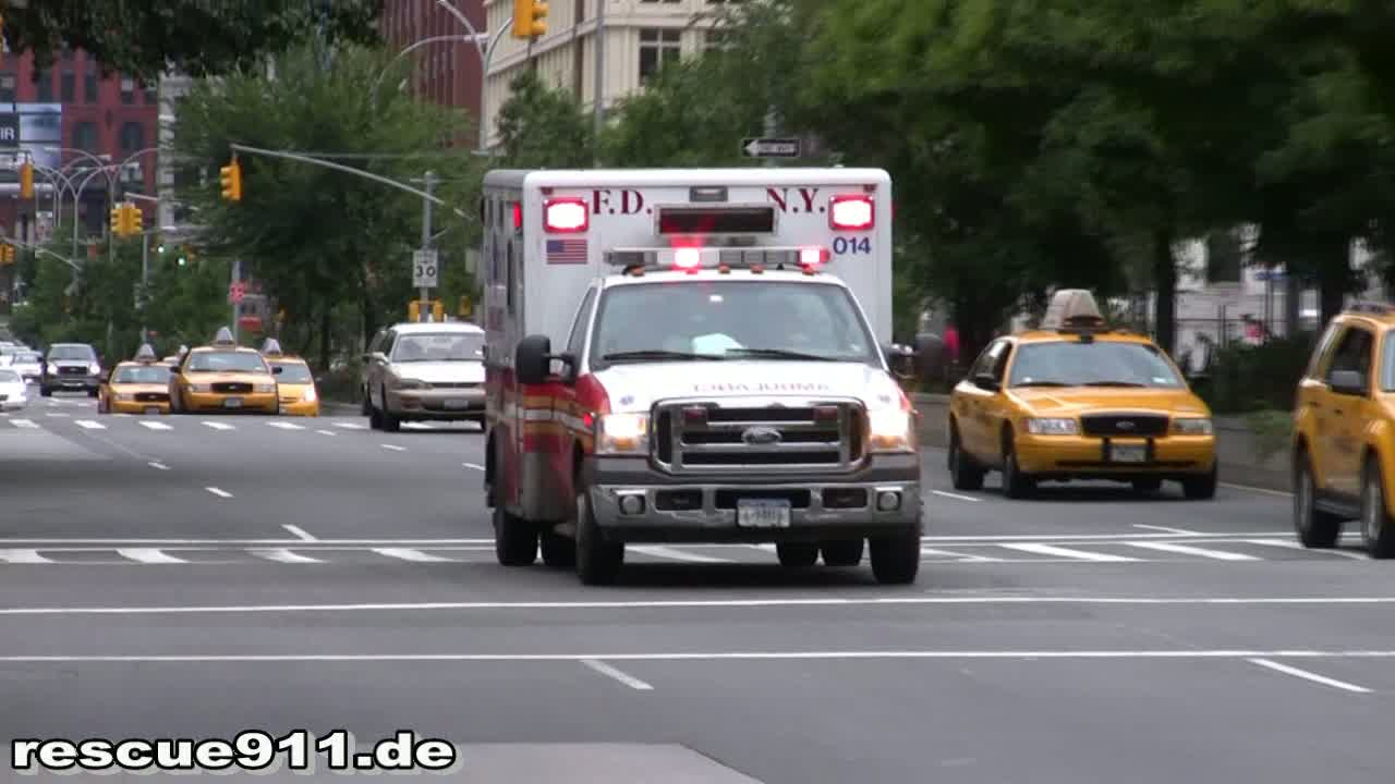 Ambulance 014 FDNY (stream)