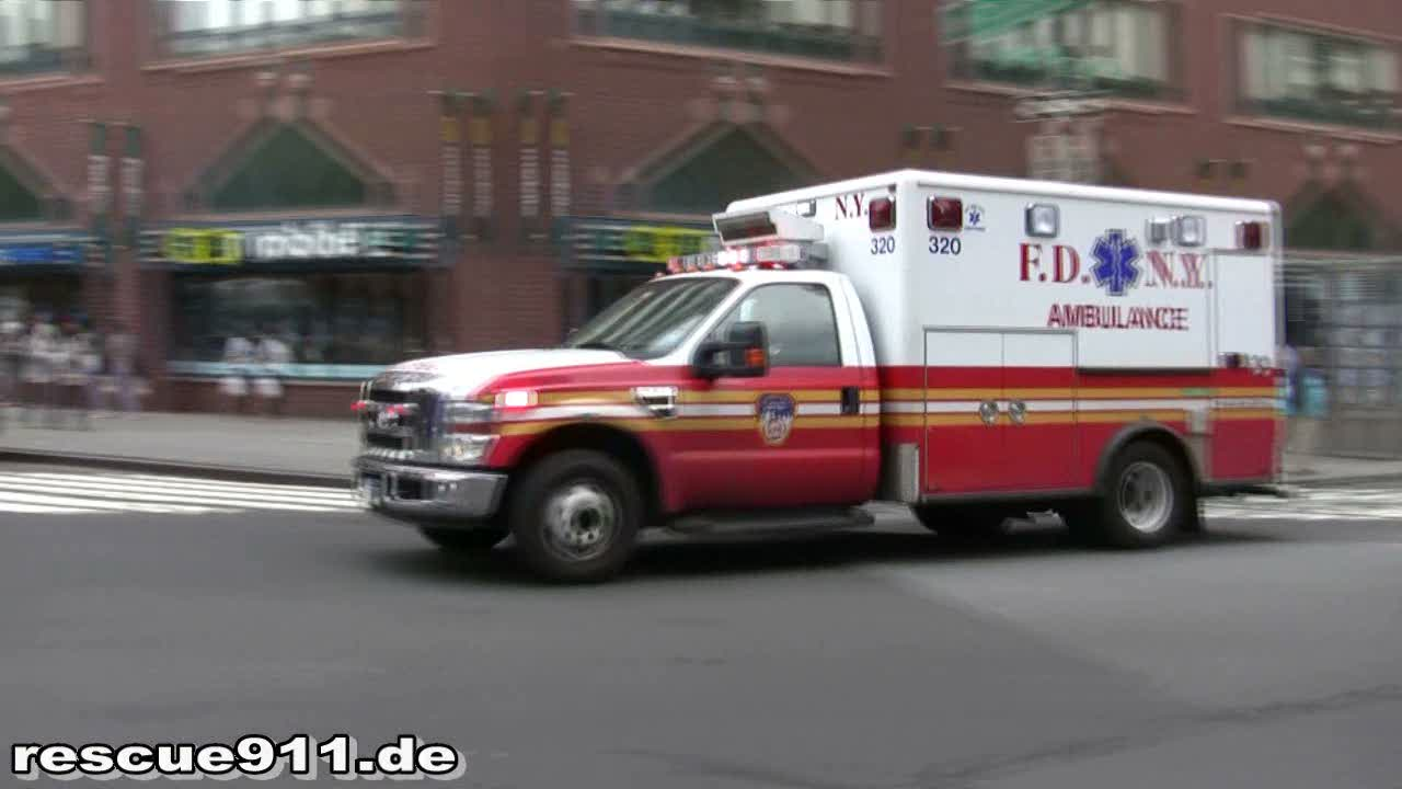Ambulance 320 FDNY (stream)