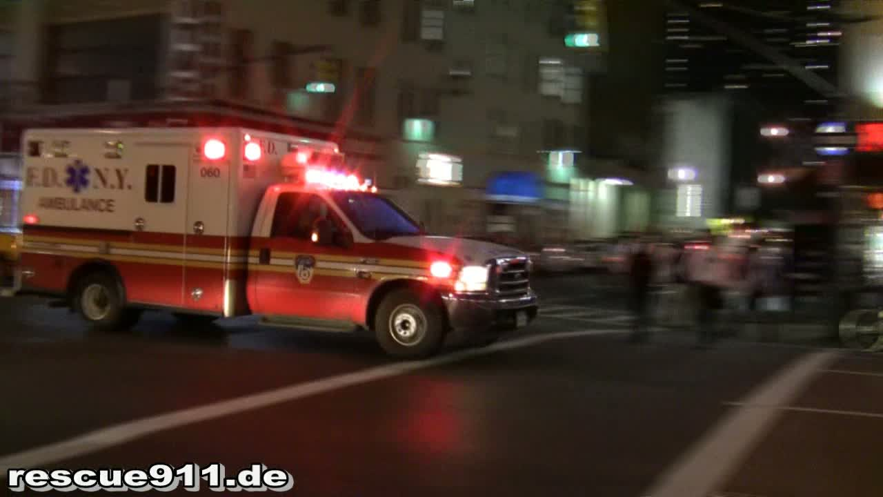 Ambulance 060 FDNY (stream)