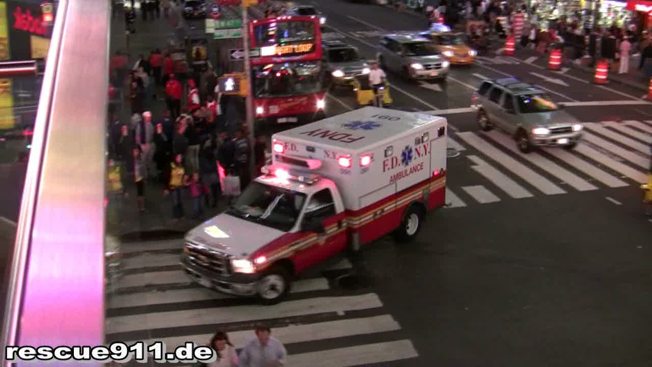 Ambulance 091 FDNY (stream)