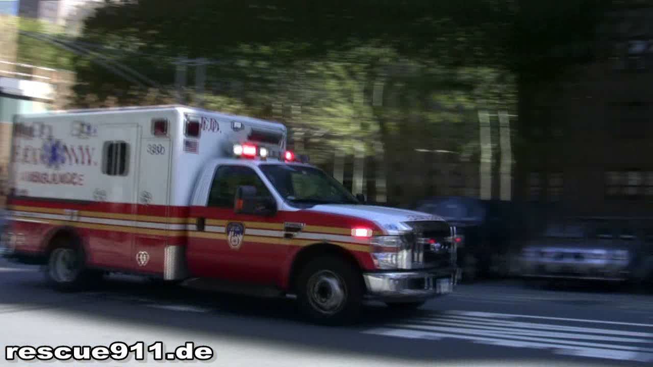 Ambulance 330 FDNY (stream)