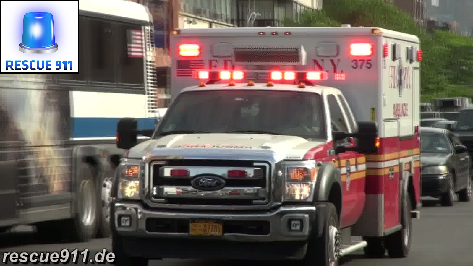 Ambulance FDNY (collection) (stream)