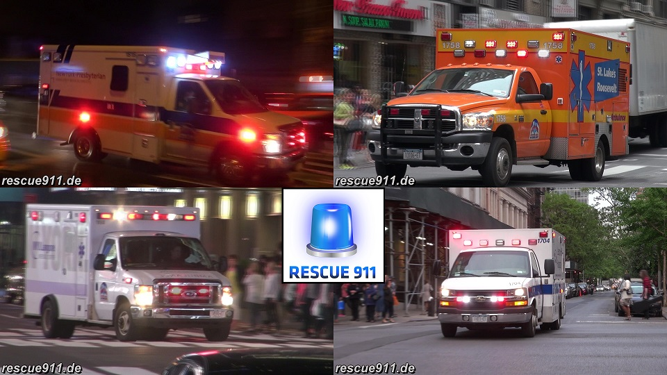 Hospital Ambulance New York City (collection) (stream)