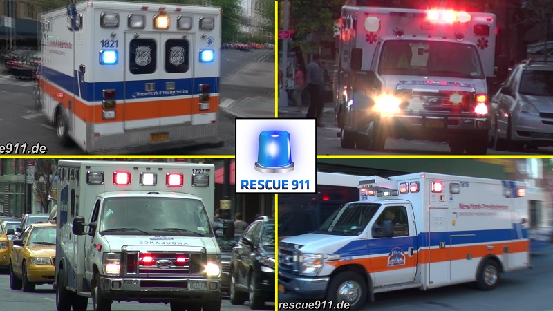 Hospital Ambulances New York City (collection) (stream)