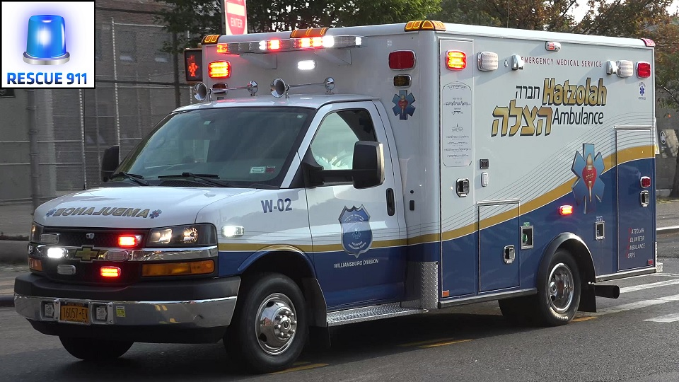 Ambulance Hatzolah Volunteer Ambulance New York City (stream)
