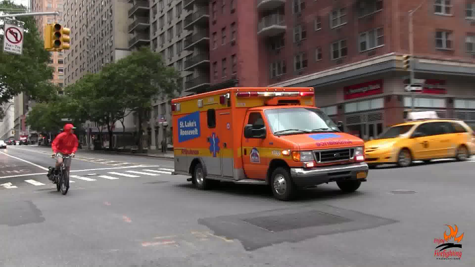 Ambulance 1769 St. Luke's Roosevelt Hospital