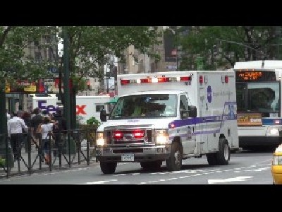 Ambulance Langone Medical Center + Ambulance FDNY