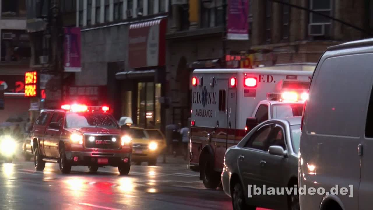 Ambulance + EMS Supervisor FDNY