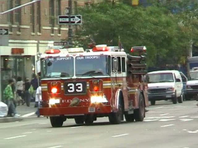 Engine 33 FDNY (stream)